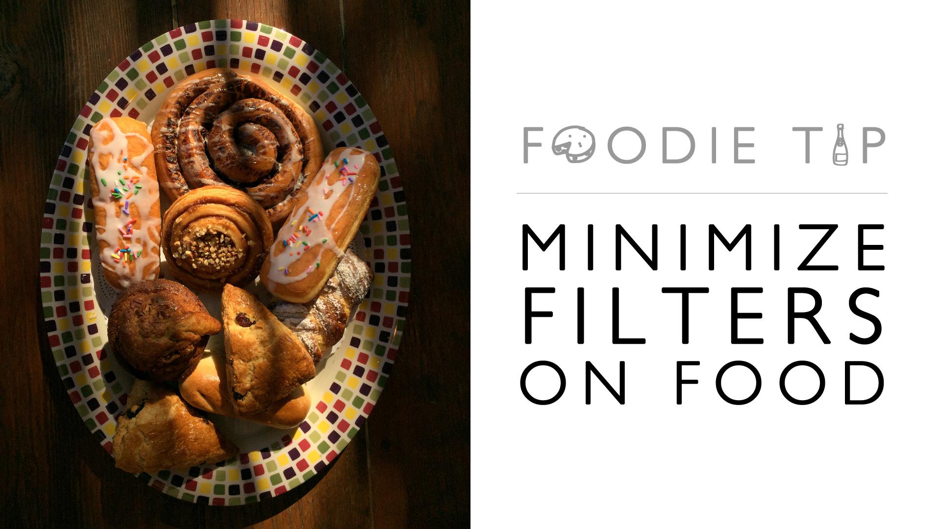 minimize filters