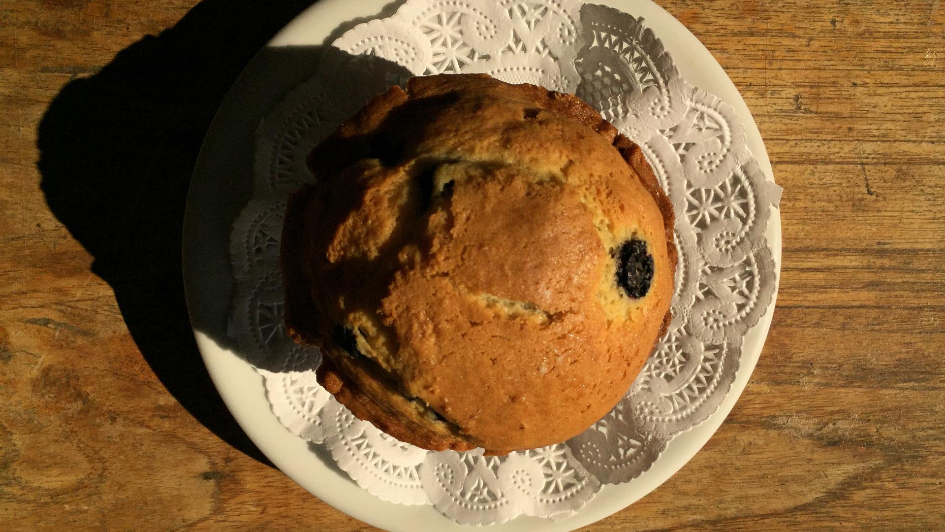 clean muffin